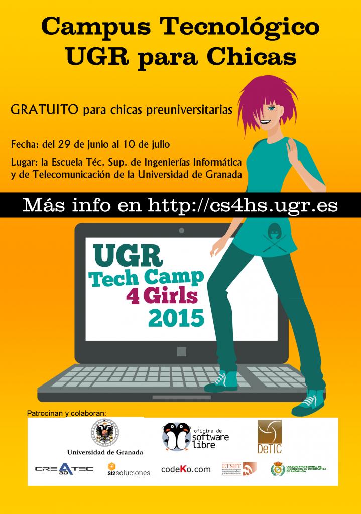 cartel campus tecnológico 2015