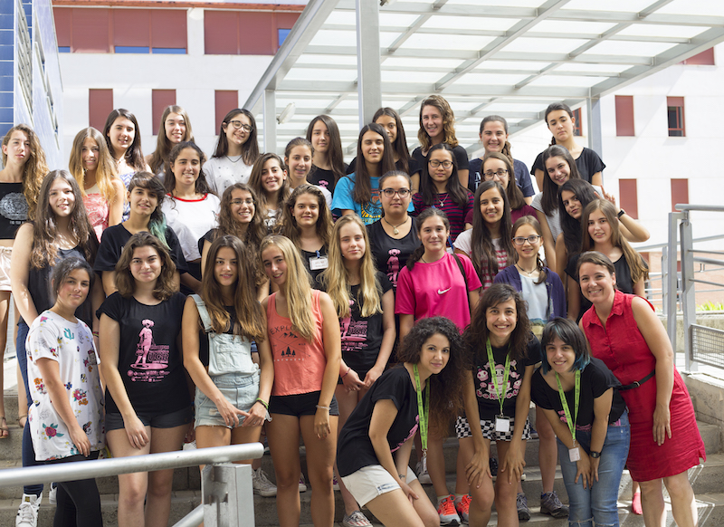 grupo alumnas III Campus tecnológico para chicas UGR 2016