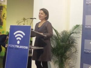 Nuria Rico recoge premio Ingenio en Malaga 11/11/2016